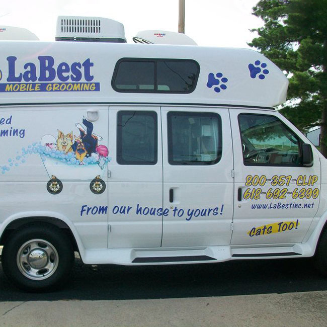Mobile Grooming at LaBest Pet Resort and Spa