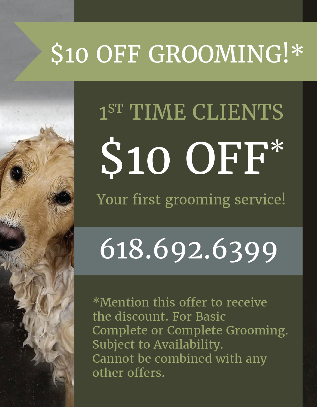 Special Grooming Offer from LaBest Pet Resort and Spa